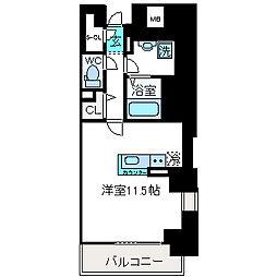LIBRA TAKATSUKI[611号室]の間取り