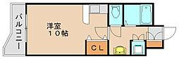 パークコート箱崎イースト[5階]の間取り