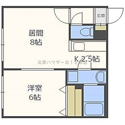 ENCHAN−THE[4階]の間取り