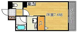 トップ・ティー稲葉[1階]の間取り