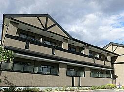 ジェンテカ−サ[2階]の外観