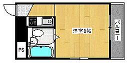 丸栄マンション聖天下[2階]の間取り