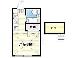 ニシヤマハイツ[2階]の間取り