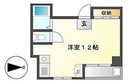 ドルフィン六番[4階]の間取り