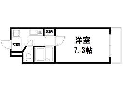 Succeed衣笠[3階]の間取り