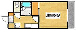 サンライズ日本[203号室]の間取り