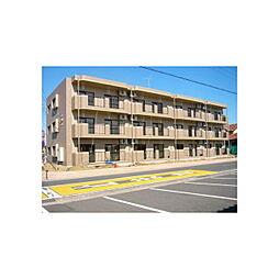 茨城県神栖市平泉東2丁目の賃貸マンションの外観