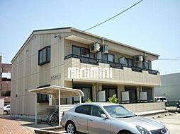 愛知県名古屋市中川区長須賀3の賃貸アパートの外観