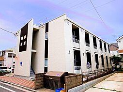 埼玉県新座市野火止3丁目の賃貸アパートの外観