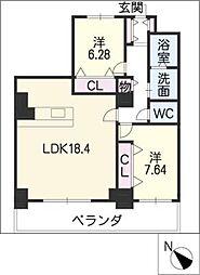 ARDEA[17階]の間取り