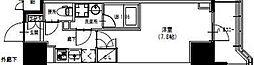 S-RESIDENCE曳舟 4階1Kの間取り