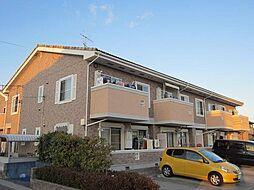 ベル ソレイユKII[2階]の外観