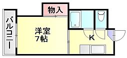 MKハイツ相生[2階]の間取り