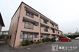 愛知県岡崎市欠町字下口の賃貸マンションの外観