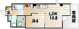 ソレイユ・ルヴァン赤坂[3階]の間取り