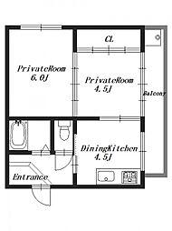 M'sマンション[1階]の間取り