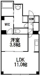レコルト円山[2階]の間取り