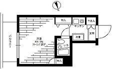 ステージファースト日吉[4階]の間取り