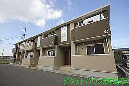徳島県小松島市金磯町の賃貸アパートの外観