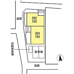 仮)D-room下中村町[102号室]の外観