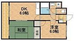 セシーズイシイ6[3階]の間取り