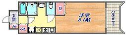 OZパレス[4階]の間取り