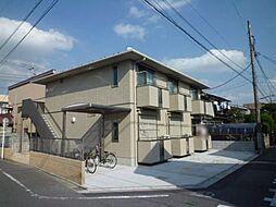 東京都昭島市朝日町3丁目の賃貸アパートの外観