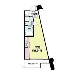 フォレステージュ江坂公園[5階]の間取り