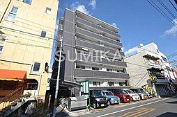 岡山県岡山市北区南方2丁目の賃貸マンションの外観