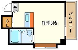 兵庫県神戸市垂水区御霊町の賃貸マンションの間取り