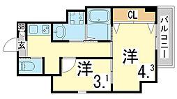 鷹取駅 5.7万円