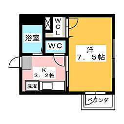 K−プレイス[2階]の間取り