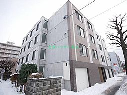 北海道札幌市東区北十六条東8丁目の賃貸マンションの外観