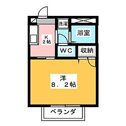 メゾン・カルテット[2階]の間取り