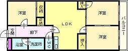 エスト深井[2階]の間取り