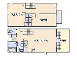 [一戸建] 広島県広島市佐伯区利松1丁目 の賃貸【/】の間取り