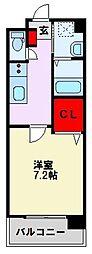 グリーンコートIII番館[1階]の間取り