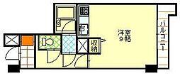 トーカンマンション千秋[407号室]の間取り