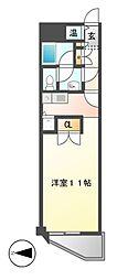 A−WING[4階]の間取り