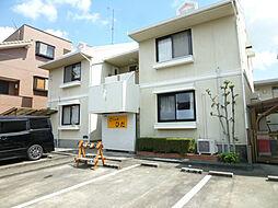 静岡県浜松市中区和合北2丁目の賃貸アパートの外観