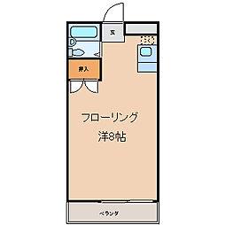 上野台コスモス[23号室]の間取り