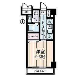 パストラーレ三ノ輪[2階]の間取り