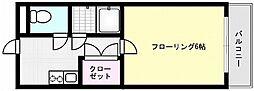 メゾン青木[102号室]の間取り