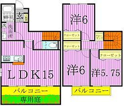 K's SQUARE[2階]の間取り