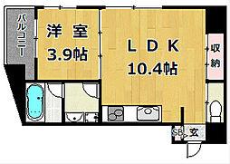 ピコットVII[7階]の間取り