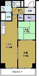 第20柴田ビル[2階]の間取り