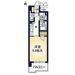 ア・ミュゼ新大阪[10階]の間取り