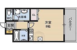 タカブロス高倉[305号室]の間取り