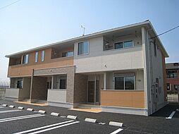 群馬県富岡市富岡の賃貸アパートの外観