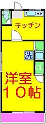 桂マンション[2階]の間取り